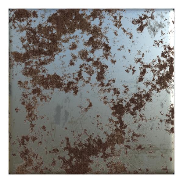 Oxidized Rusty Metal Texture   Free PBR   TextureCan