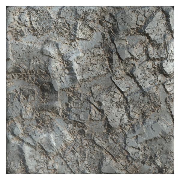 Rock Texture With Sharp Edges Free Pbr Texturecan